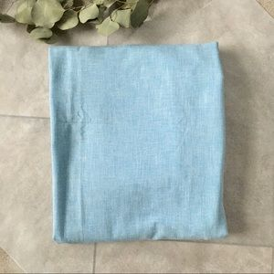 Vintage 90s Baby Blue Rive Texture Fabric